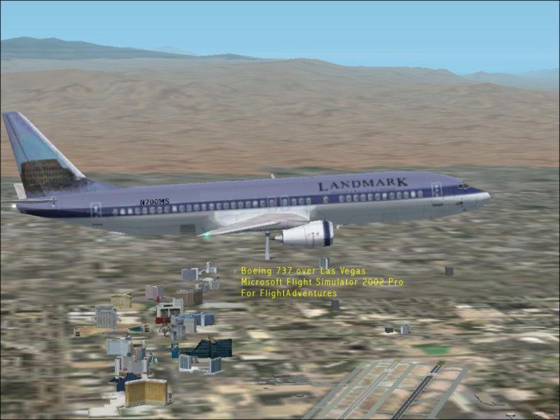 Flight Plan Download *PREVIEW SAMPLE* - FlightAdventures VPC(tm)